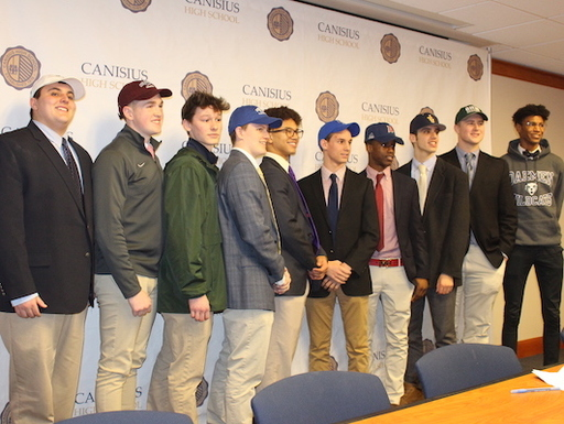 College Signing Day, Feb. 2019