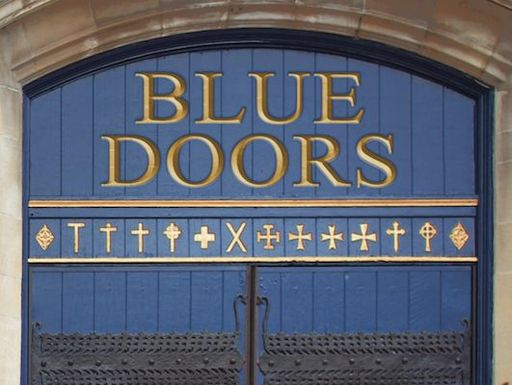 """Blue Doors"" Book Now Available"