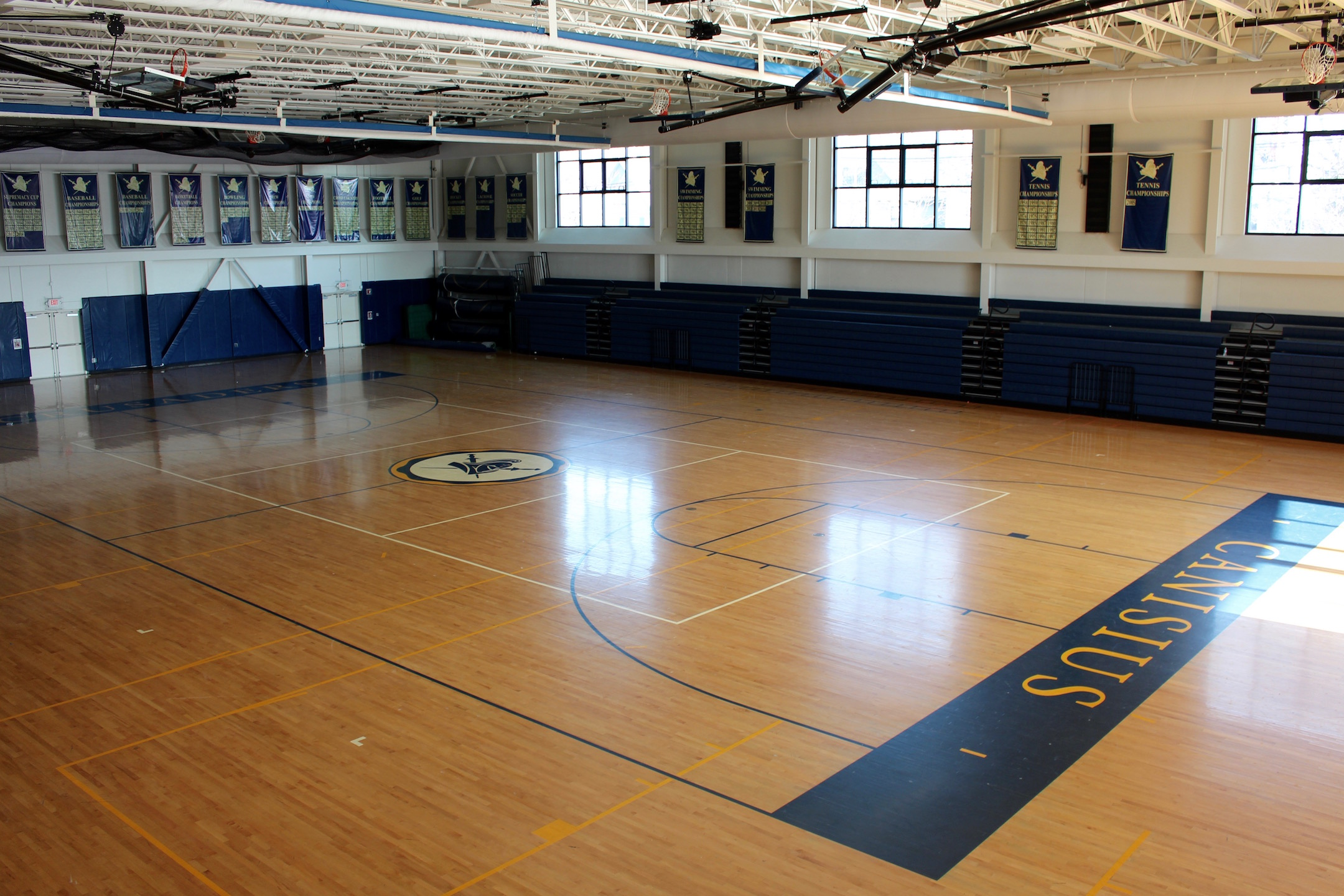Mansion with indoor soccer field  Facilities - Canisius High School